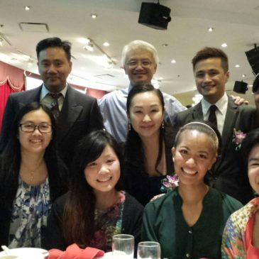 Team members attend CRRS Fundraising Dinner