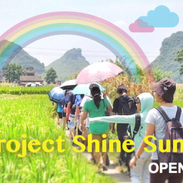 Project Shine Summer Trip 2016 has begun!